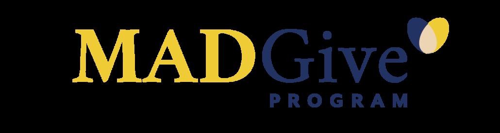 MADGive logo